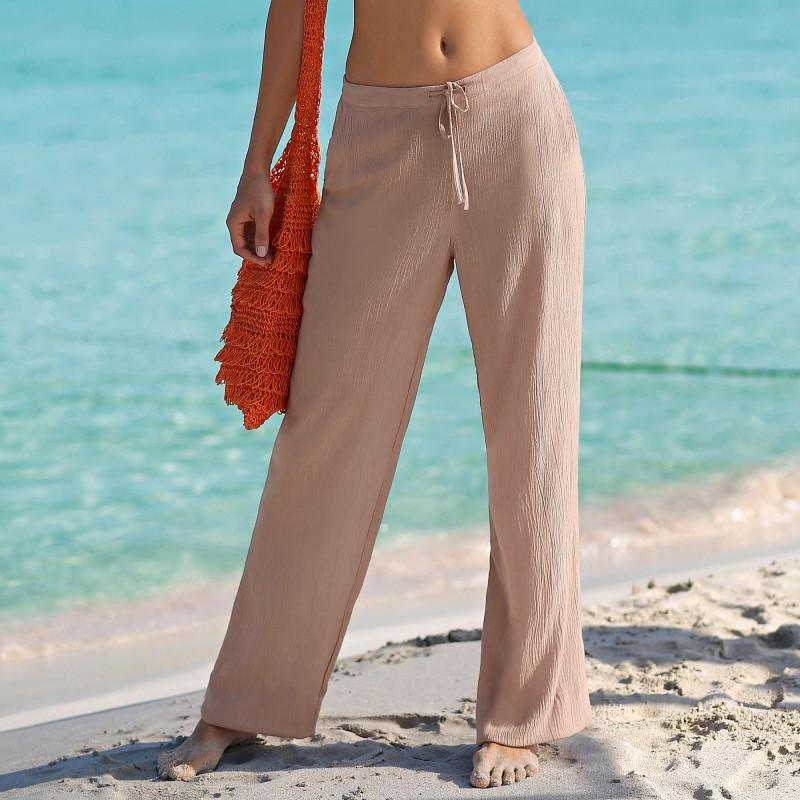Kreponové kalhoty