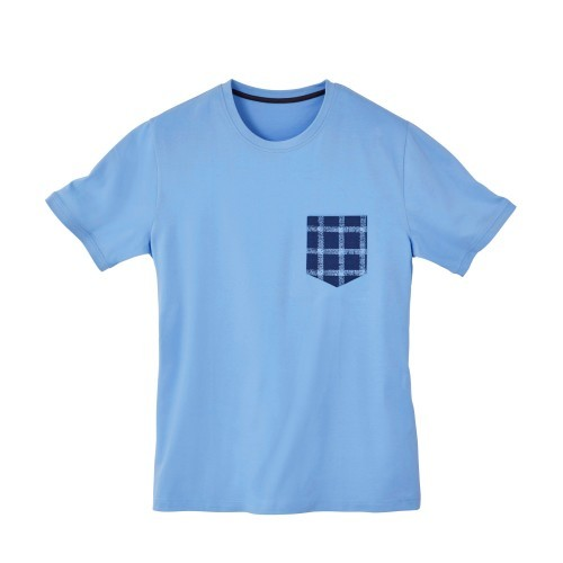 Pyžamové triko s krátkými rukávy