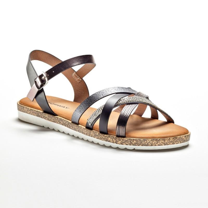 Originálne remienkové sandále