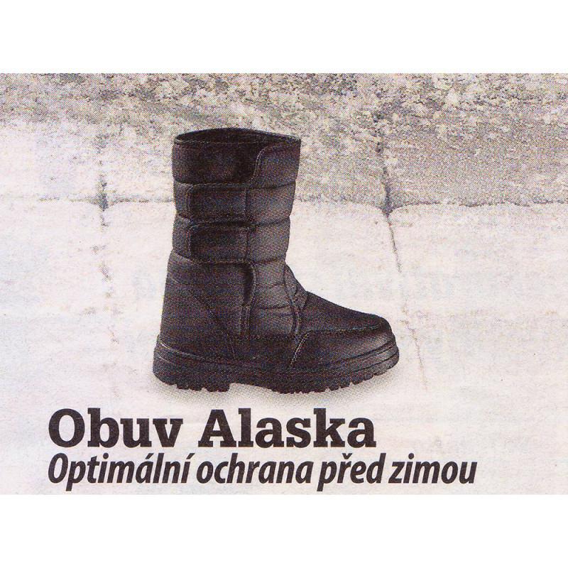 Obuv Alaska   čierna 43