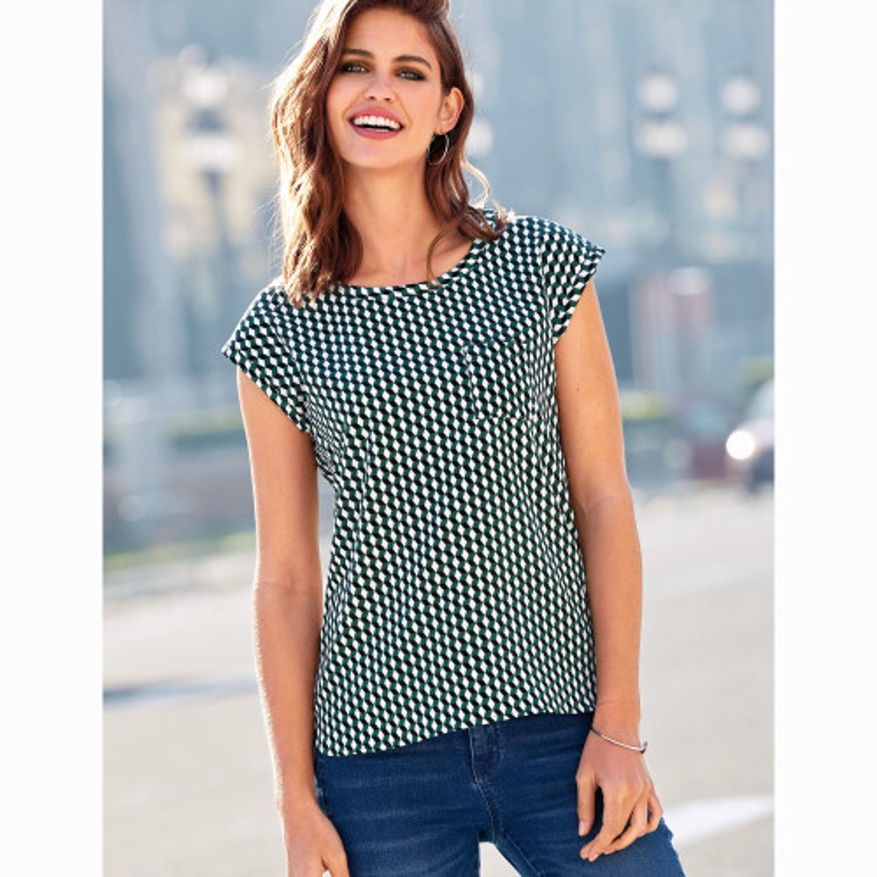 Tričko s krátkými rukávy a náprsní kapsi
