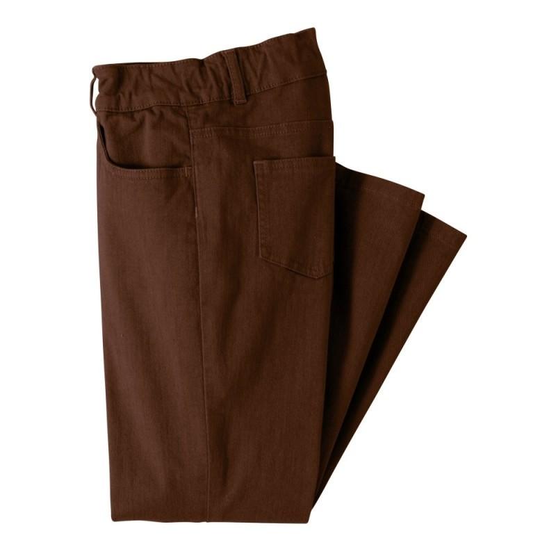 Zeštíhlující kalhoty, vyšší postava