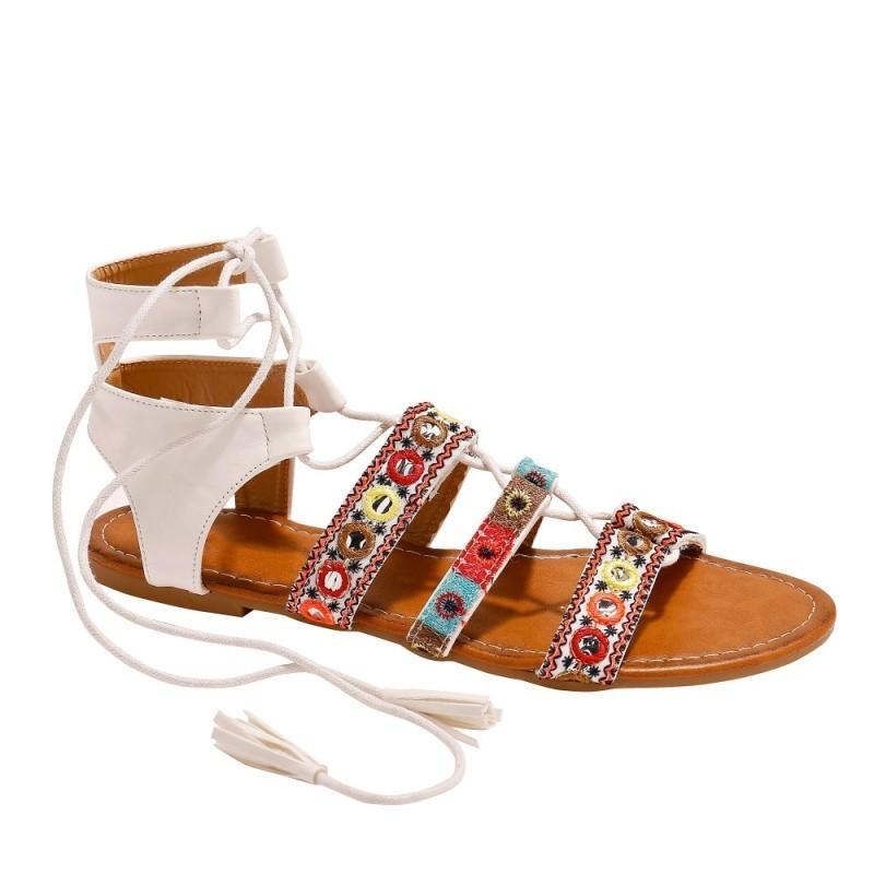 Sandále so šnurovaním
