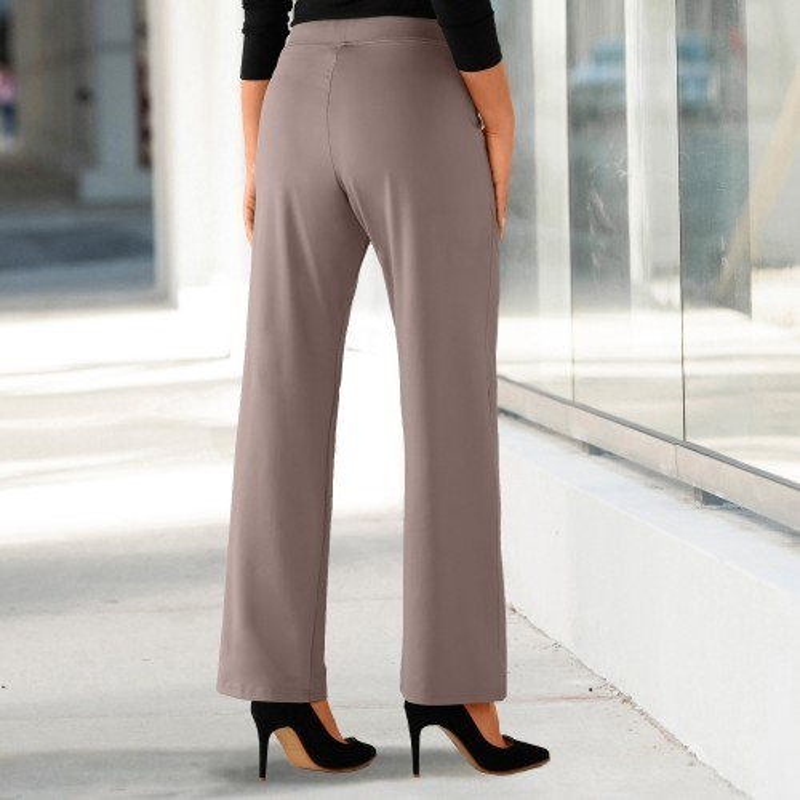 Kalhoty z nemačkavého úpletu
