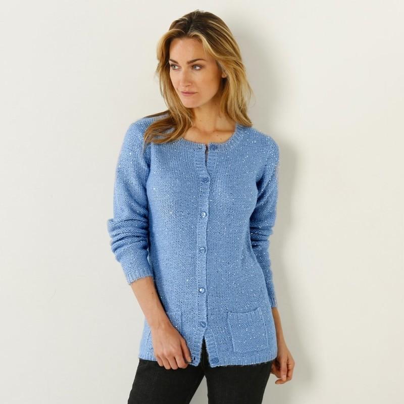 Trblietavý sveter
