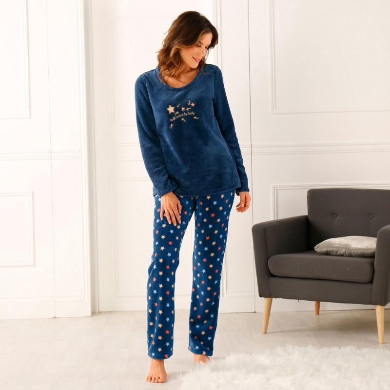 Fleecové pyžamo