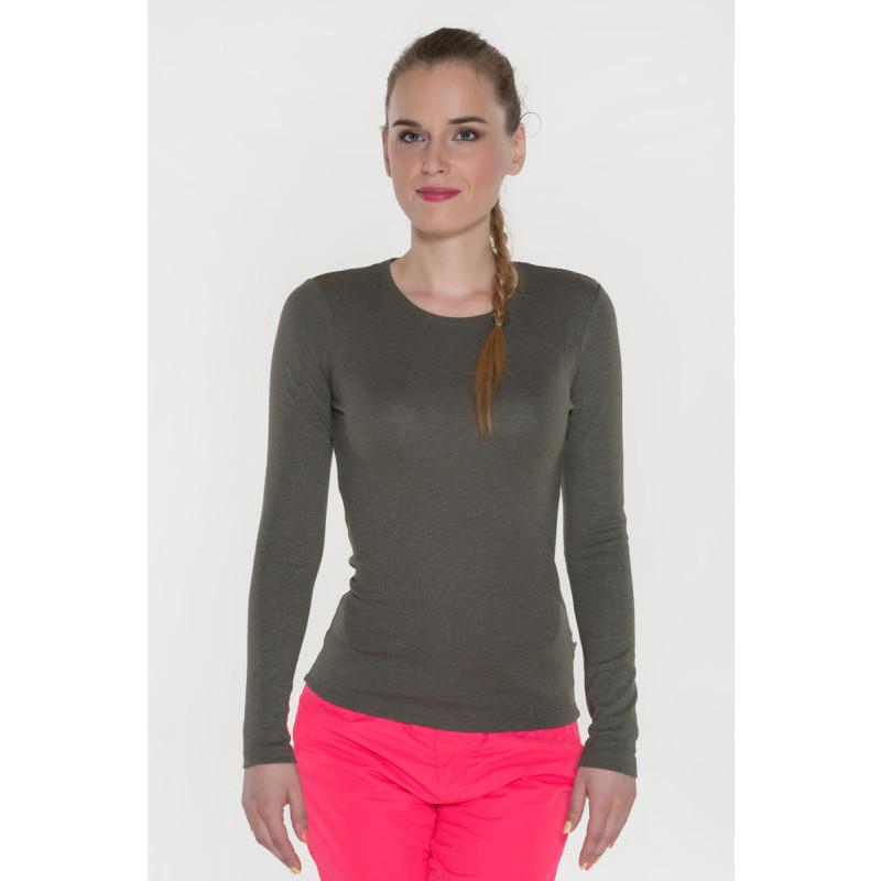 Jednofarebné tričko s dlhým rukávom Sam 73