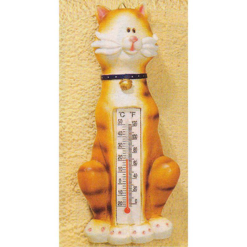 Teploměr - motiv kočka
