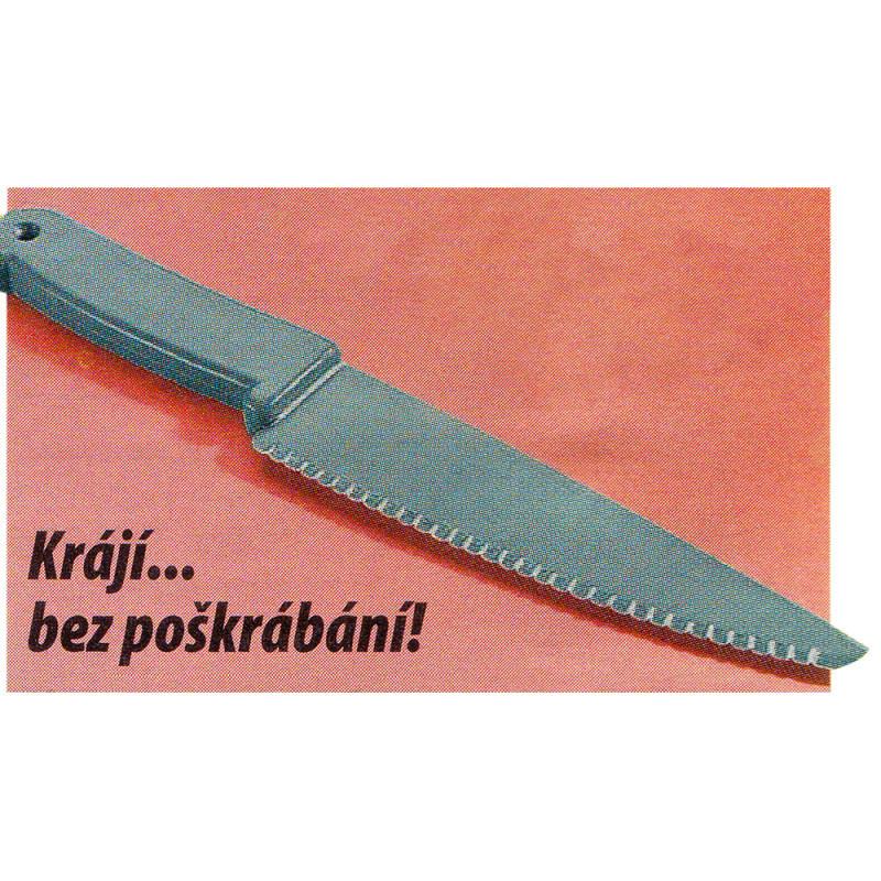 Nůž s nepřilnavou vrstvou