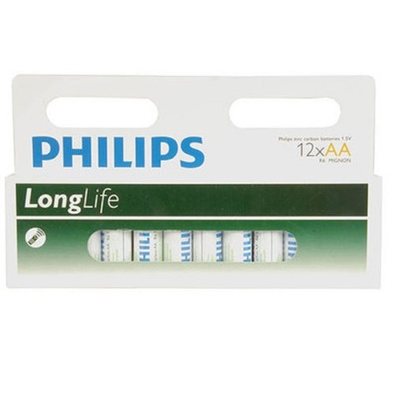 Philips AA baterie, 12 ks
