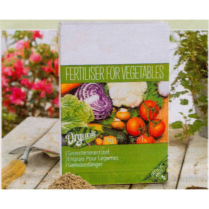 Organické hnojivo na zeleninu a paradajk