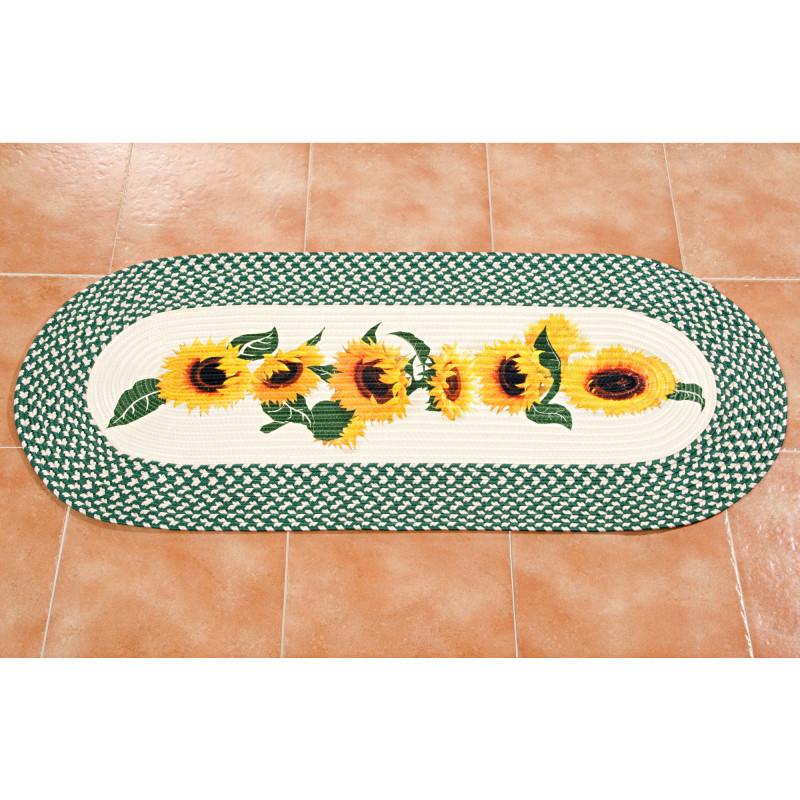 Kuchyňský koberec Slunečnice