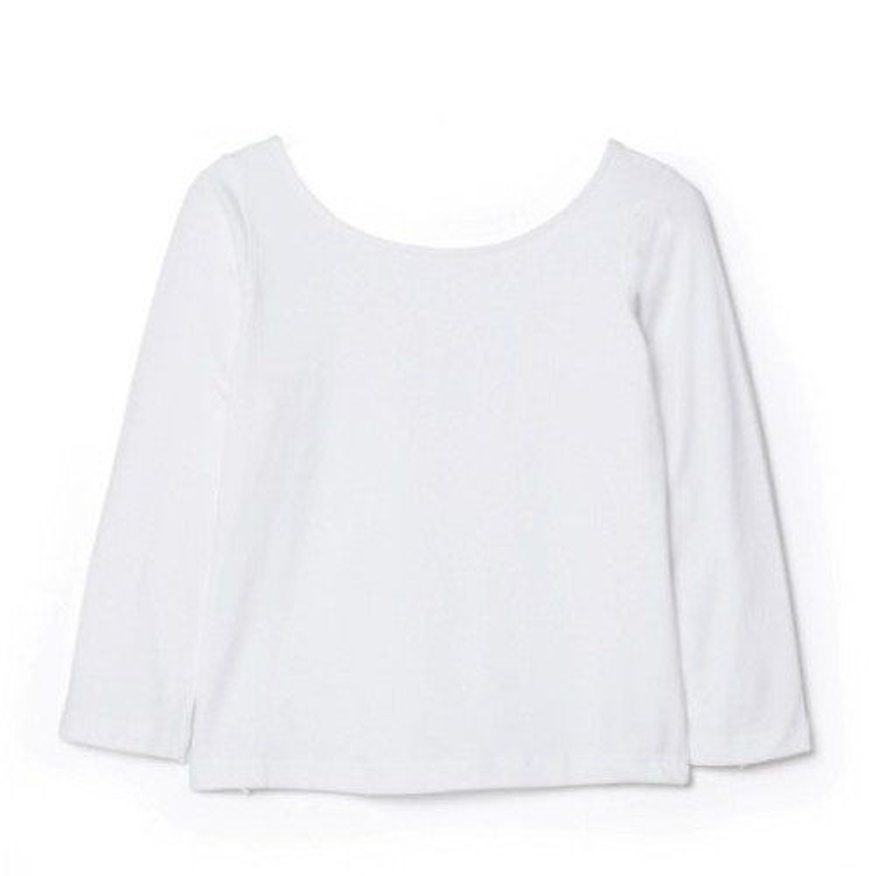 Jednobarevné tričko se 3/4 rukávy