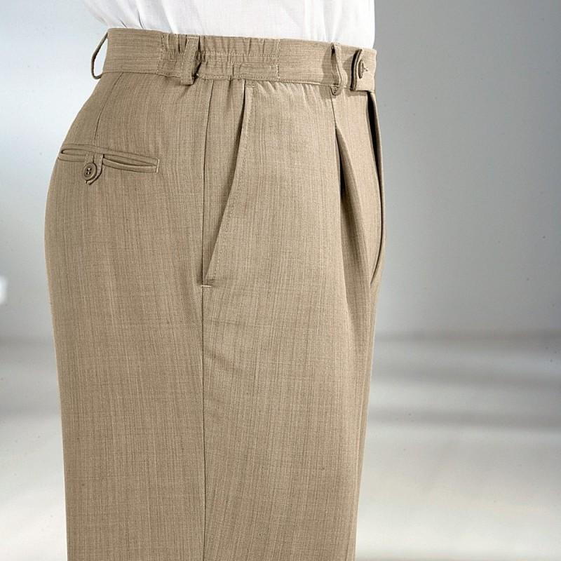 Nohavice pánske,55%PES+43%vlna+2%elastan