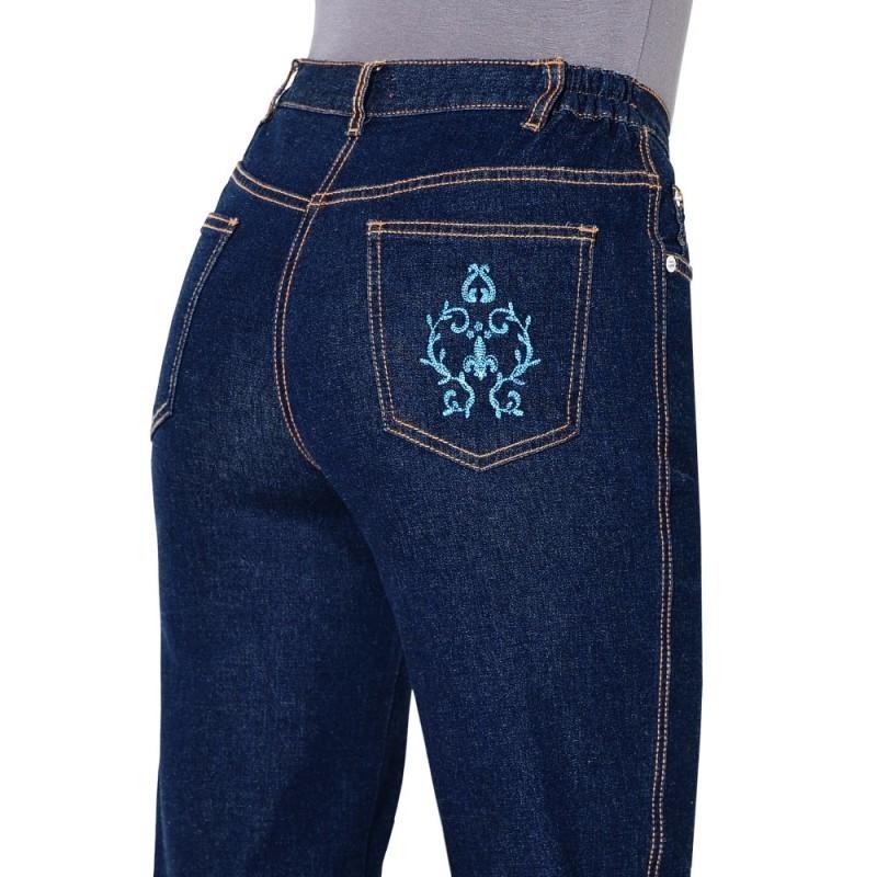 Džínsové nohavice, nižšia postava