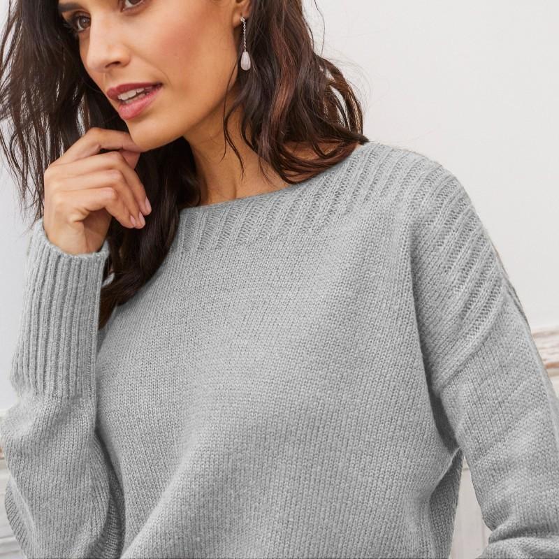 Žakárový pulóver