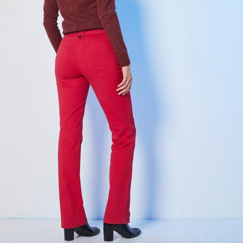 Tvilové kalhoty s knoflíky