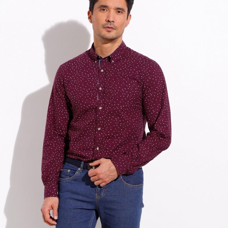 Pánská košile, dl. rukáv