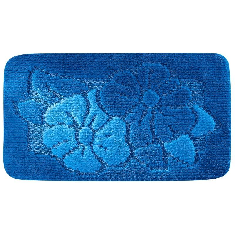 Kúpeľňová predložka s plastickým vzorom kvetov