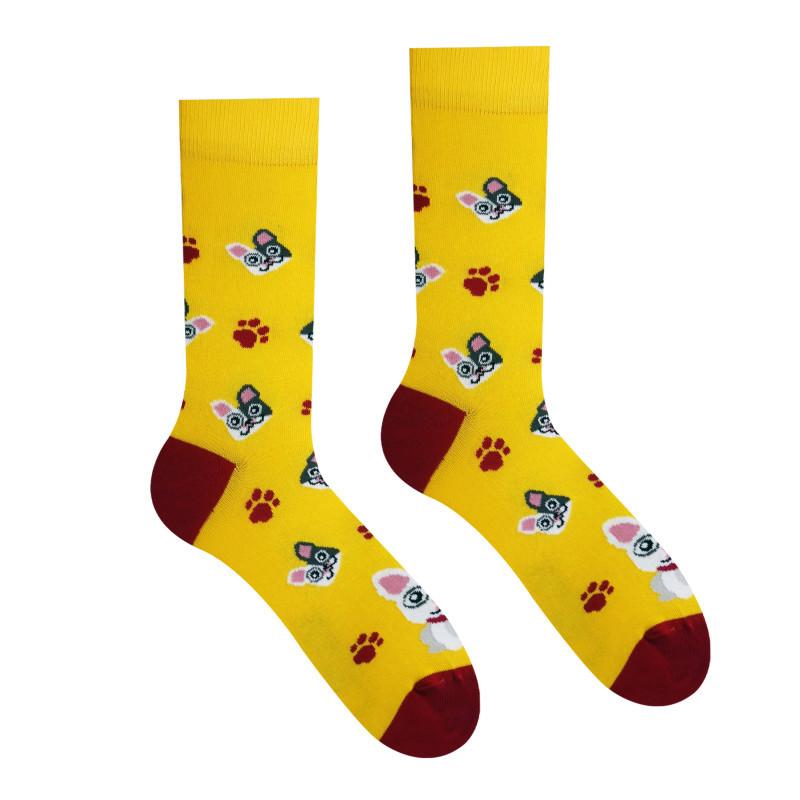 Veselé ponožky Buldok