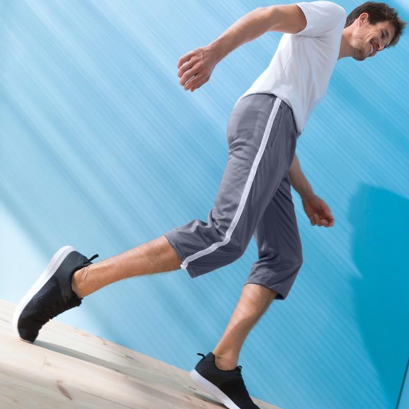 Pohodlné pánské krátké sportovní kalhoty