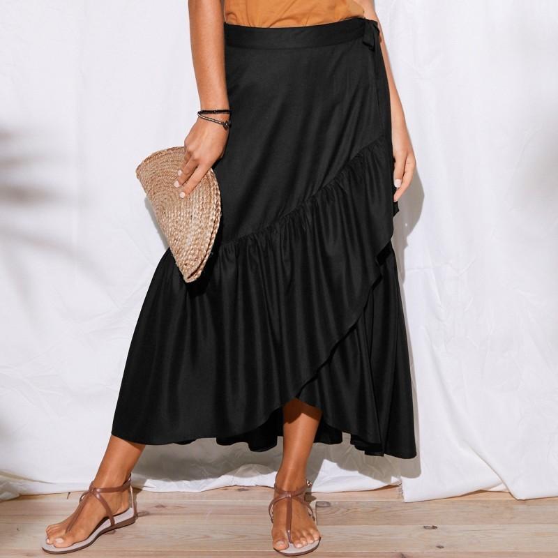 Dlhá puzdrová sukňa