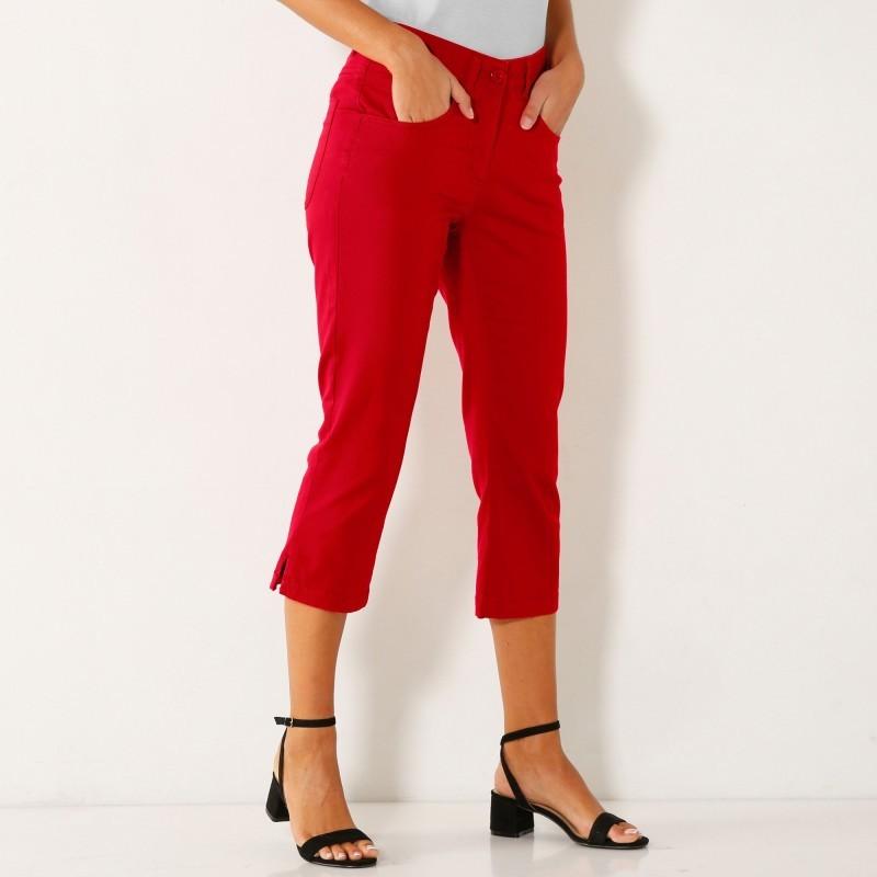 3/4 kalhoty s rozparky