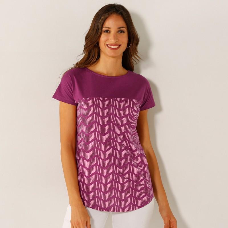 Tričko s potiskem a krátkými rukávy