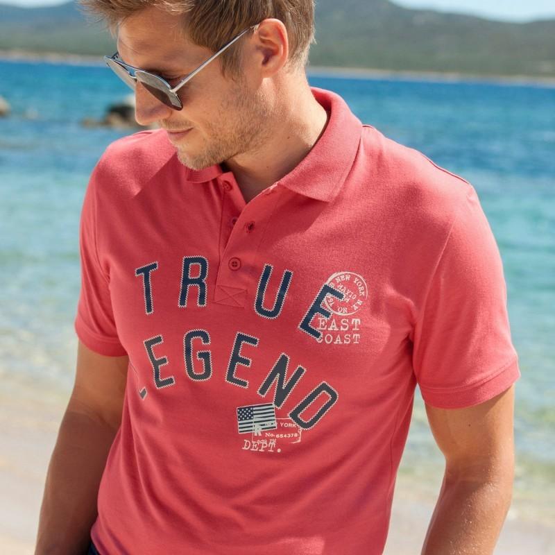 """Polo tričko s potlačou """"True Legend"""""""