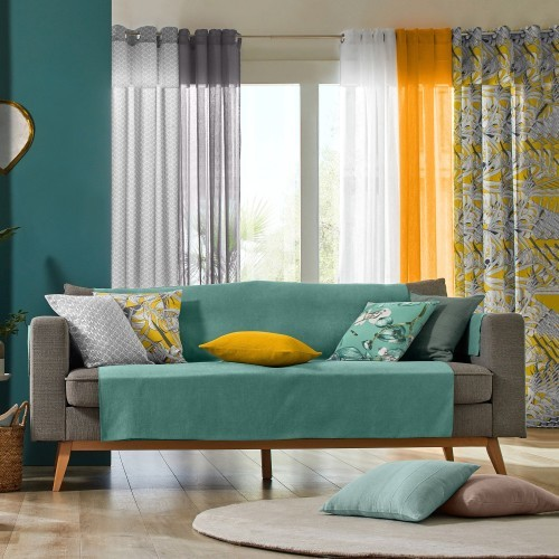 Ochrana obývacího pokoje, jednobarevná