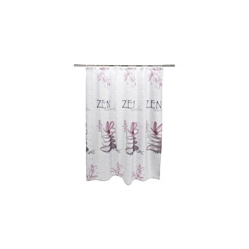 Závěs do sprchy, potisk Zen