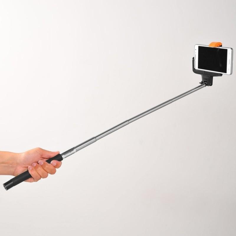 Teleskopická selfie tyč so spúšťačom
