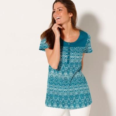Tuniské tričko s etno vzorem