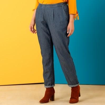 Chino denimové kalhoty