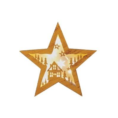 Dekorace hvězda
