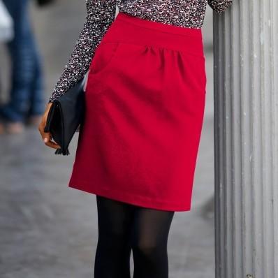 Sukňa s tulipánovým strihom