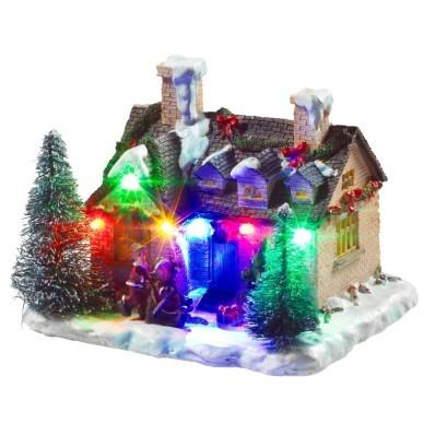 Světélkující dům