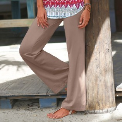 Dlouhé dámské kalhoty