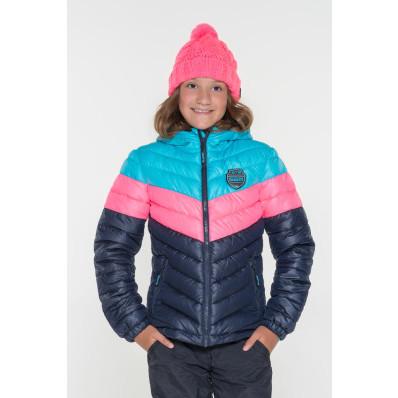 Dievčenská bunda na zips Sam 73