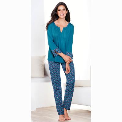 Pyžamo s dlouhými kalhotami