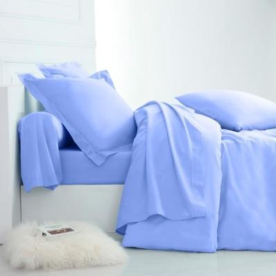 Jednofarebná posteľná bielizeň, bavlna z