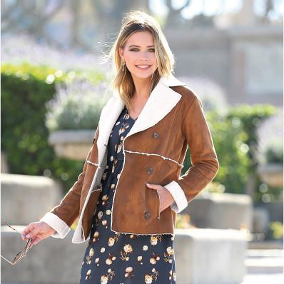 Kabát s kožušinou
