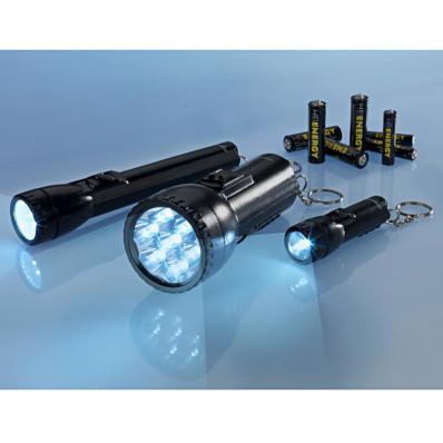 3 LED svítilny