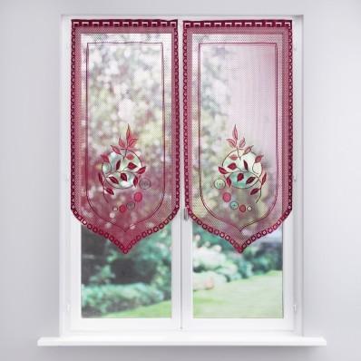 Záclona vitrážová 2 ks
