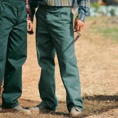 Pracovní kalhoty, 100% bavlna, sada 2 ks