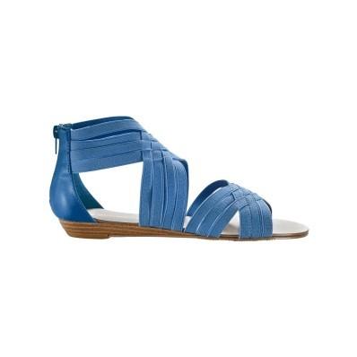 Sandály s plochým podpatkem