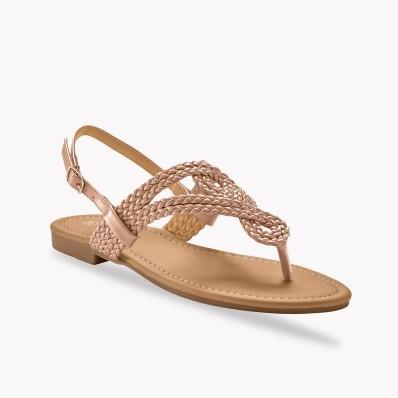 Sandále so zapletaným remienkom medzi pr