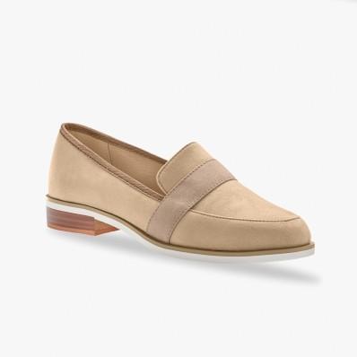Lesklé členkové topánky